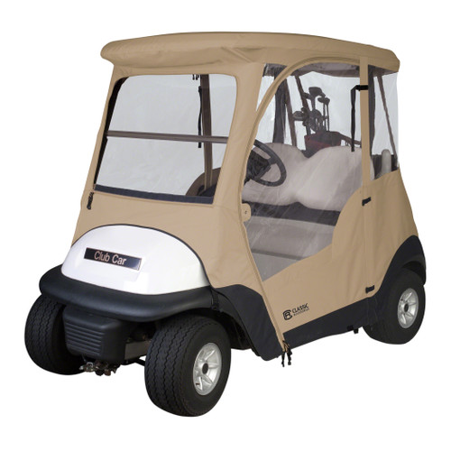 Club Car Precedent Golf Car Premium Full Cab Enclosure