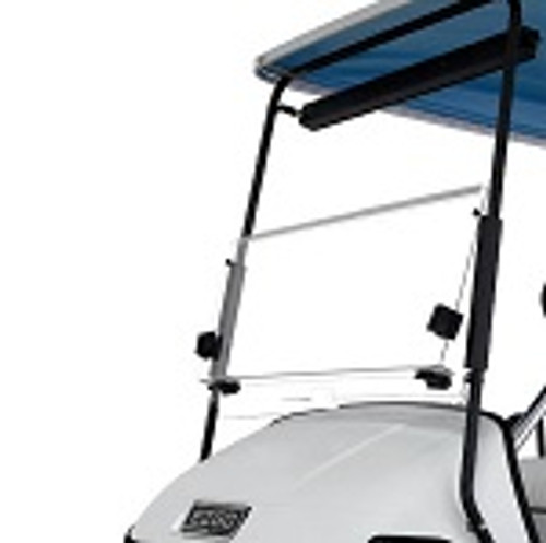 EZGO TXT Golf Cart 1994-2013 Clear Folding Front Windshield Clip On