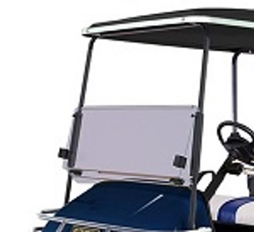 EZGO TXT Golf Cart 1994-2013 Tinted Folding Front Windshield Bolt On