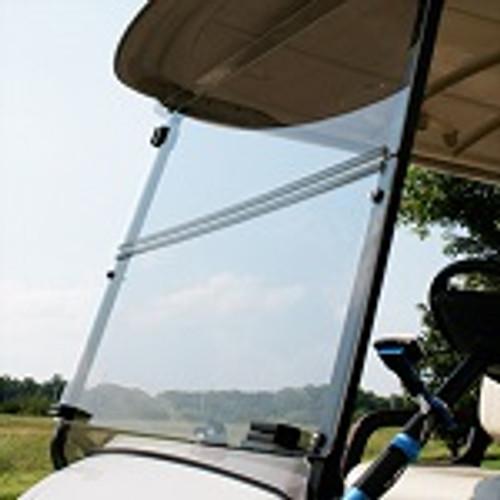 Yamaha G29 Drive Golf Cart 2007-2016 Clear Folding Front Windshield Factory Top