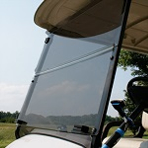 Yamaha G29 Drive Golf Cart 2007-Up Tinted Folding Front Windshield Factory Top
