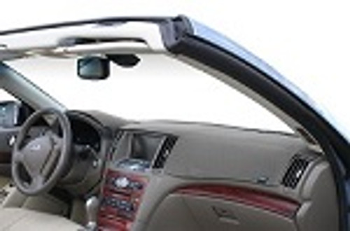 """Ford C-Max 2013-2016 w/ 3.5"""" Screen Dashtex Dash Cover Mat Grey"""