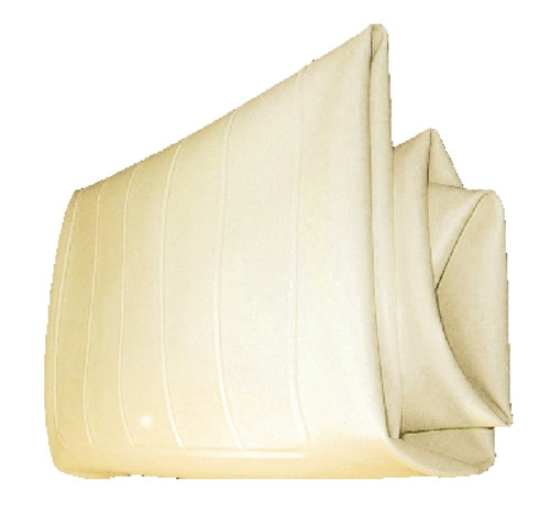 Yamaha Golf Cart G16 thru G22 Seat Bottom Cover Ivory