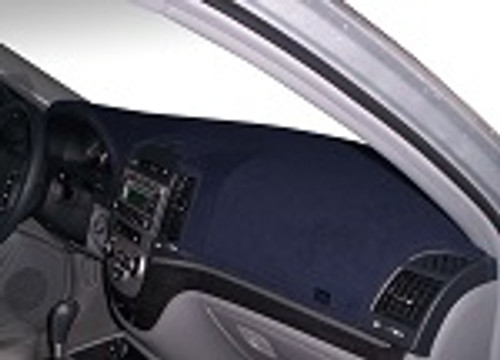 Ford Escort / EXP 1981-1983 No Clock Carpet Dash Cover Mat Dark Blue