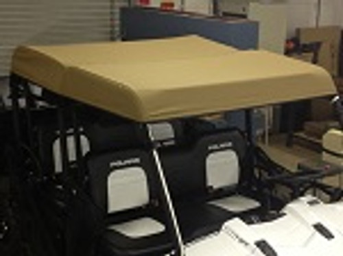 Polaris Ranger Crew Midsize 2011-2014 Soft Top Roof Cover | Custom Made to Order