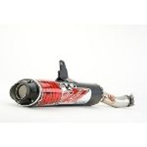 Big Gun EVO U Slip On Exhaust for Honda Foreman 500 2012-2013 ATV 12-1442
