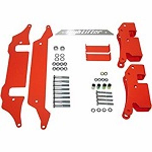 "High Lifter Polaris RZR XP1000 2015-2019 3-5"" Adjustable Lift Kit | Red"