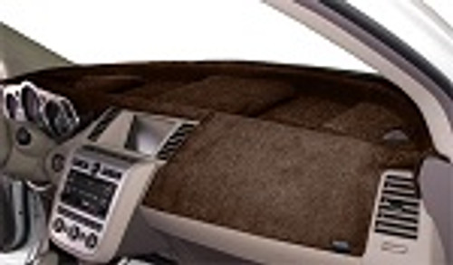 Cadillac ATS 2013-2019 w/ HUD w/ FCW Velour Dash Cover Mat Taupe