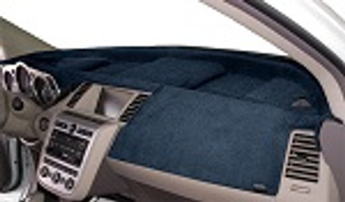 Fits Infiniti G35 2003-2004 w/ Sensor Velour Dash Cover Mat Ocean Blue