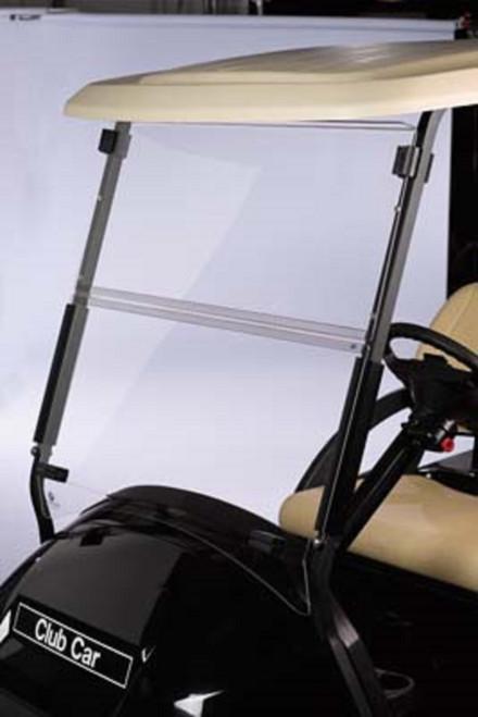 Club Car Precedent Golf Cart 2004-Up Clear Acrylic Folding Front Windshield