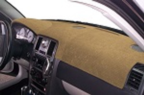 Cadillac SRX 2013-2016 No FCW Sedona Suede Dash Board Cover Mat Oak