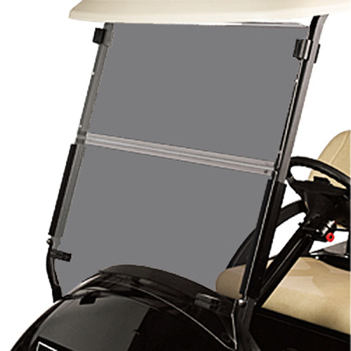 Club Car Precedent Golf Cart 2004-Up Tinted Acrylic Folding Front Windshield
