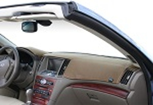 Fits Toyota FJ Cruiser 2007-2014 W/ Gauge Dashtex Dash Cover Mat Oak