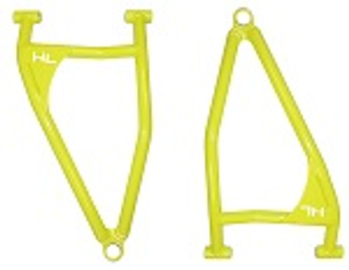 High Lifter Arched Front Lower Control A Arms Polaris RZR XP1000 2017+ Lime