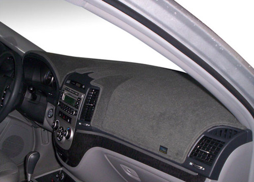 Fits Mazda 323 1986-1989 No Clock Carpet Dash Board Cover Mat Grey