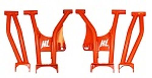 2016-2019 Polaris General 1000 High Lifter Rear Raked A Arms   Orange