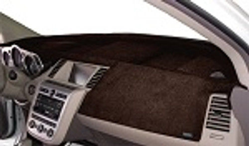Acura TLX 2015-2020 No FCW Velour Dash Board Cover Mat Dark Brown