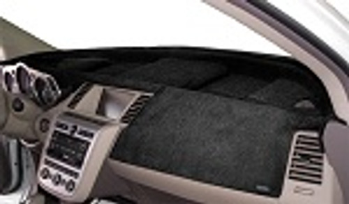 Mitsubishi Galant 2004-2012 No Sensor Velour Dash Cover Mat Black-1