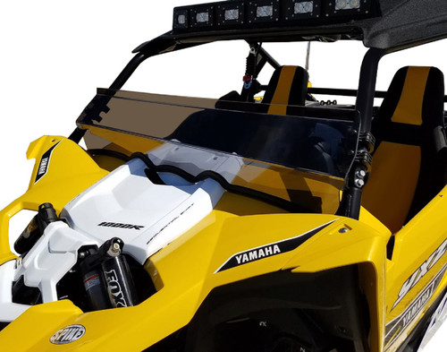 Spike Yamaha YXZ 1000R Front Half Window Windshield Tinted | 77-1450-T