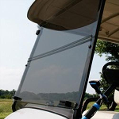 Yamaha Drive2 2017+ Golf Cart Impact Resistant Folding Windshield | Tinted