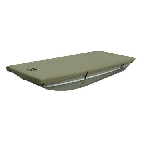 All Weather Jon Boat Storage Cover 12' to 14' ft - Olive