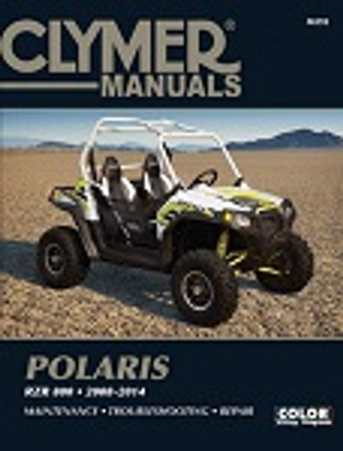 Polaris RZR 800 2008-2014 Maintenance Service Repair Shop Manual | Clymer M292
