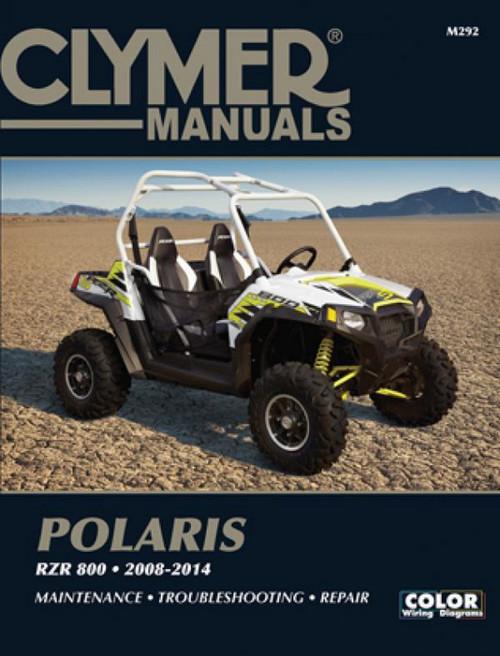 Polaris RZR 800 2008-2014 Maintenance Service Repair Shop Manual   Clymer M292