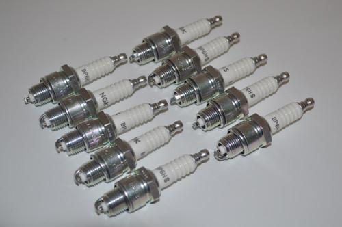 1978 Suzuki RM50 NGK Standard Spark Plug | BP6HS | 7331 | 10 Set