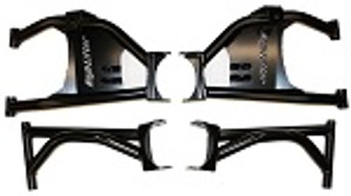 Rear Raked Upper & Lower Control Arm Set Polaris Scrambler Sportsman | RED