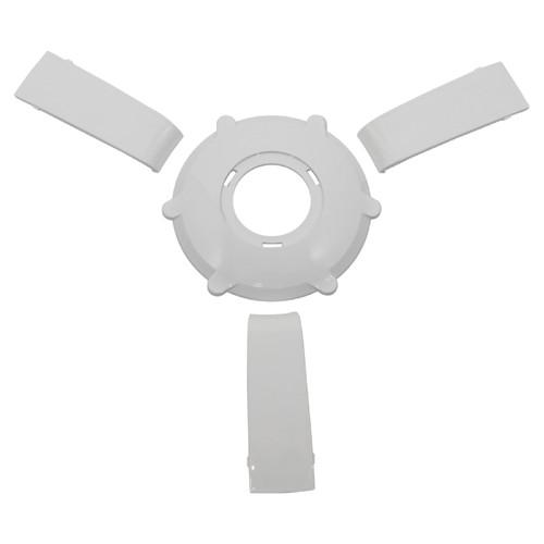 Gussi Italia Giazza Steering Wheel Insert Set   White