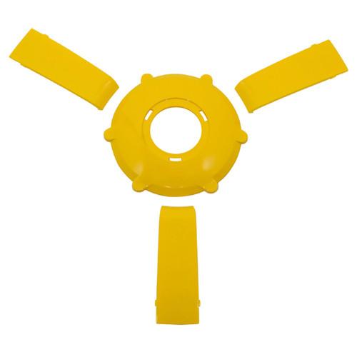 Gussi Italia Giazza Steering Wheel Insert Set   Yellow