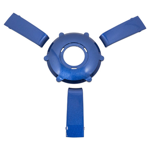 Gussi Italia Giazza Steering Wheel Insert Set   Blue