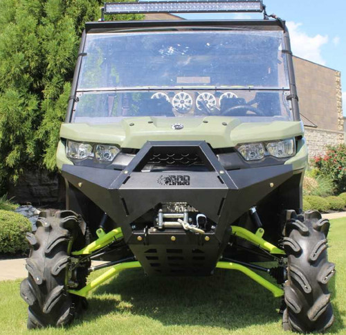 Bad Dawg Can Am Defender 2016-2019 Custom Front Bumper with Winch Mount