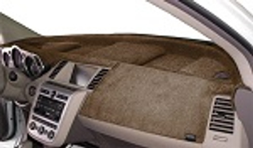 Fits Toyota Avalon 2019-2021 w/ HUD Velour Dash Mat Cover Oak