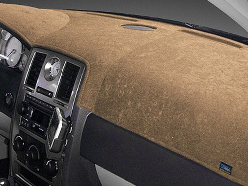 Fiat Abarth 2016-2017 Brushed Suede Dash Board Cover Mat Oak