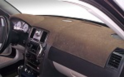 Fits Hyundai Kona 2018-2020 No HUD Brushed Suede Dash Cover Mat Taupe