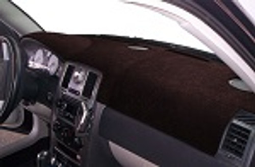 Fits Subaru Justy 1987-1988 Sedona Suede Dash Board Cover Mat Black