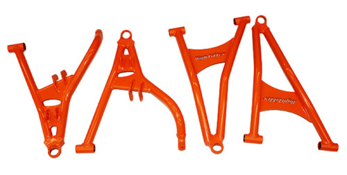 2017-2019 Polaris RZR 900 1000 S/4 High Lifter Arched Forward Front A Arms | Red