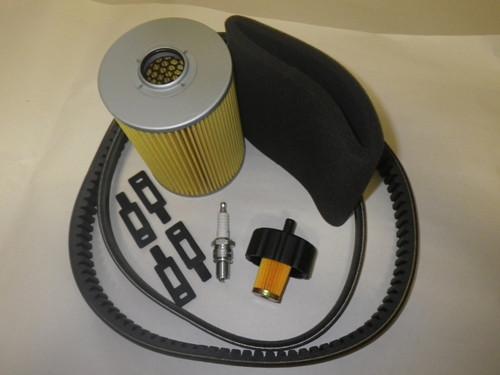 Yamaha Gas Golf Cart G2 G9 G11 1985-1994 Tune Up Kit Filter Drive Starter Belts