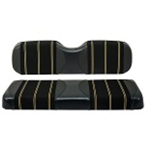 Red Dot Cooper Black Harmony Seat Covers | Yamaha G29 Drive / Drive2