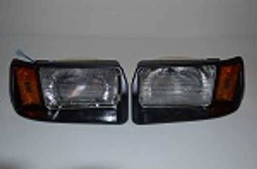 Club Car CarryAll Turf Golf Cart 1999-Up Headlight Light Assembly Kit