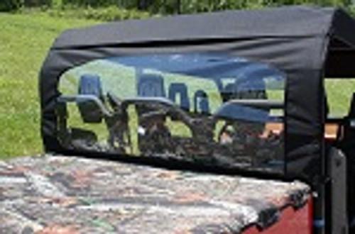 Yamaha Viking VI 6 Seat 2015+ Rear Window Dust Stopper Custom Made | Black