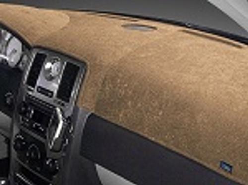 Chevrolet Spark 2016-2021 w/ FCA Brushed Suede Dash Cover Mat Oak