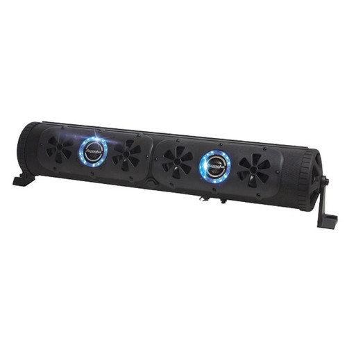 "Bazooka 24"" 450 Watt Bluetooth G2 Party Bar w/ LED Stereo System 