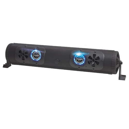 "Bazooka 24"" 450 Watt Bluetooth G2 Double Sided Bar LED Stereo System 