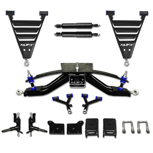 "EZGO Electric RXV Golf Cart 2013.5 Up 6"" HD A-Arm MadJax Lift Kit | 16-038 / 32062"