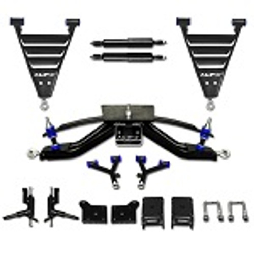 "EZGO Electric RXV Golf Cart 2008-2013.5 6"" HD A-Arm MadJax Lift Kit | 16-038"