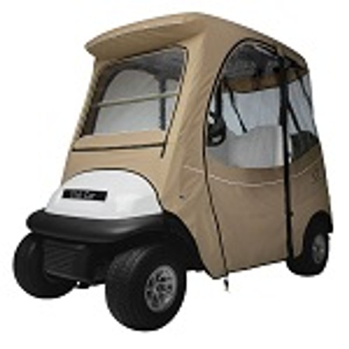 Club Car Precedent 2004-Up 2 Person Golf Cart Deluxe Cab Enclosure | Khaki