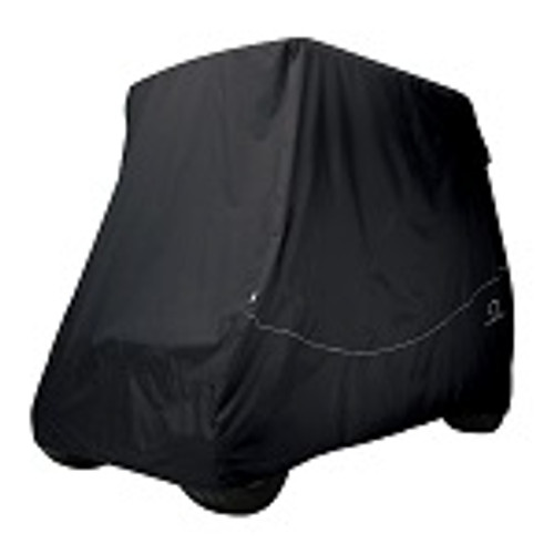 Classic Accessories Fairway 2 Person Golf Cart Quick-Fit Storage Cover | Black