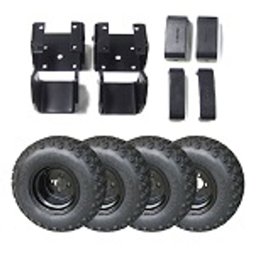 "Yamaha G2 G9 Golf Cart 1985-1995 4"" Lift Kit w/ 20"" Sahara Tire / Wheel Package"